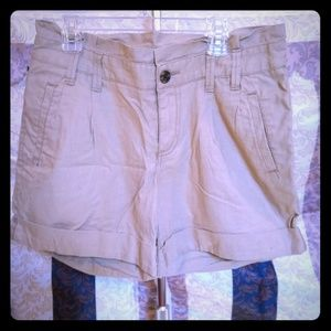 Ladies Tan Khaki Shorts Brand New Never Worn